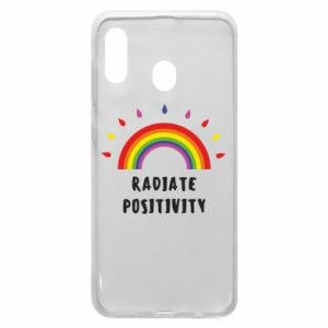 Samsung A20 Case Radiate positivity