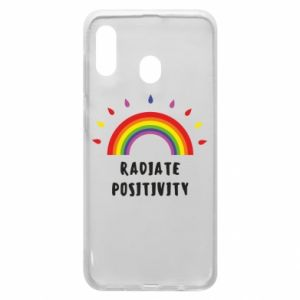 Samsung A30 Case Radiate positivity