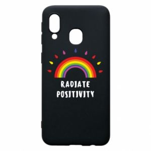 Samsung A40 Case Radiate positivity