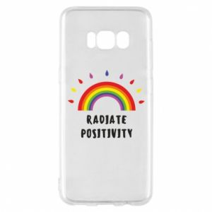 Samsung S8 Case Radiate positivity