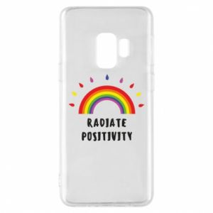 Samsung S9 Case Radiate positivity