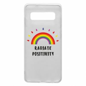 Samsung S10 Case Radiate positivity