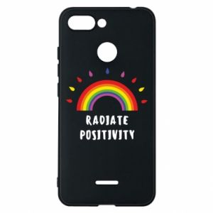 Xiaomi Redmi 6 Case Radiate positivity