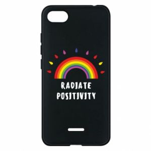 Xiaomi Redmi 6A Case Radiate positivity