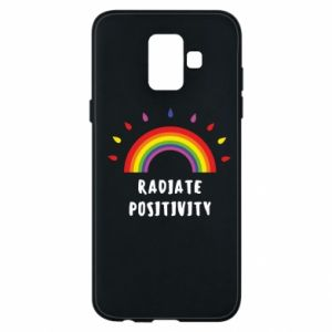 Samsung A6 2018 Case Radiate positivity