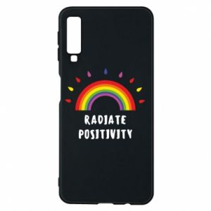 Samsung A7 2018 Case Radiate positivity