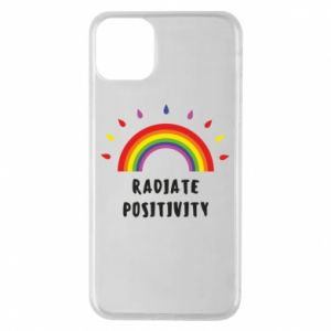 iPhone 11 Pro Max Case Radiate positivity