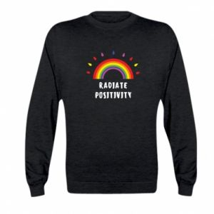 Kid's sweatshirt Radiate positivity