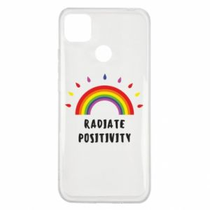 Xiaomi Redmi 9c Case Radiate positivity