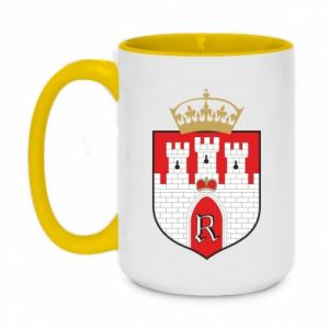 Two-toned mug 450ml Radom coat of arms