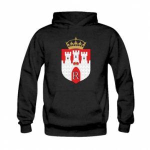 Kid's hoodie Radom coat of arms