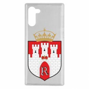 Samsung Note 10 Case Radom coat of arms