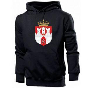 Men's hoodie Radom coat of arms