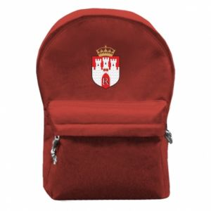Backpack with front pocket Radom coat of arms