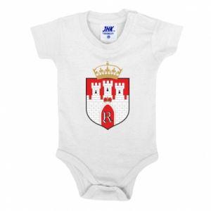 Baby bodysuit Radom coat of arms