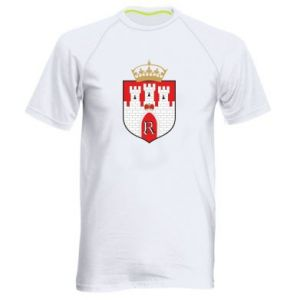 Men's sports t-shirt Radom coat of arms