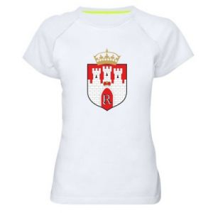 Women's sports t-shirt Radom coat of arms
