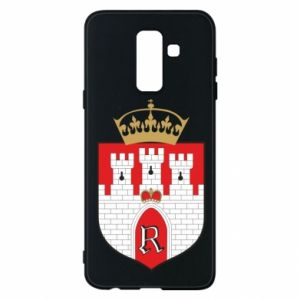 Phone case for Samsung A6+ 2018 Radom coat of arms