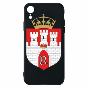 Phone case for iPhone XR Radom coat of arms