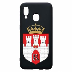 Phone case for Samsung A40 Radom coat of arms