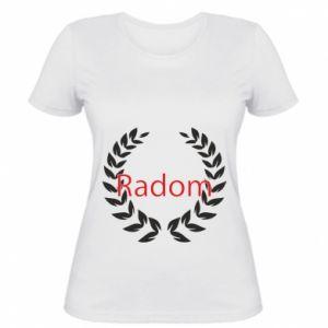 Damska koszulka Radom orzeł w liściach