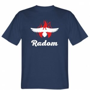 T-shirt Radom the eagle on fire