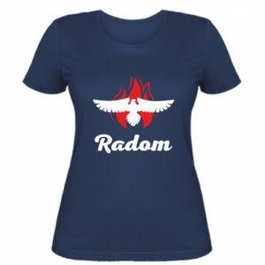 Koszulka damska Radom orzeł w ogniu