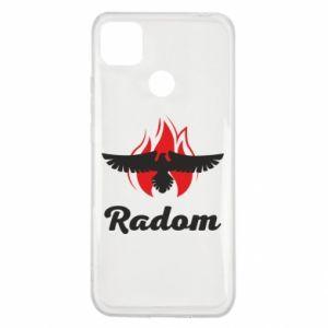Etui na Xiaomi Redmi 9c Radom orzeł w ogniu