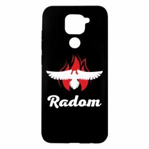 Etui na Xiaomi Redmi Note 9/Redmi 10X Radom orzeł w ogniu