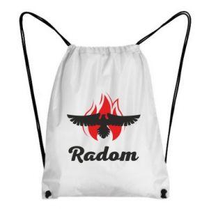 Plecak-worek Radom orzeł w ogniu