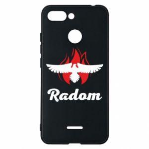 Etui na Xiaomi Redmi 6 Radom orzeł w ogniu
