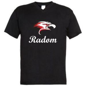 Men's V-neck t-shirt Radom