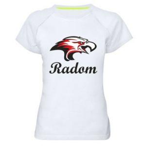 Koszulka sportowa damska Radom