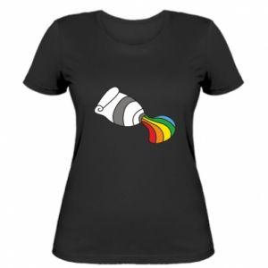 Damska koszulka Rainbow colors
