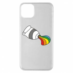 Etui na iPhone 11 Pro Max Rainbow colors