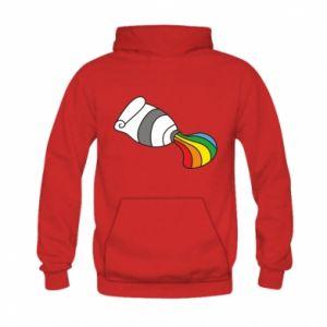 Bluza z kapturem dziecięca Rainbow colors