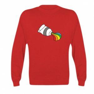Bluza dziecięca Rainbow colors