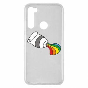 Etui na Xiaomi Redmi Note 8 Rainbow colors