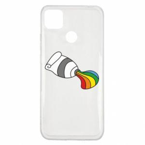 Etui na Xiaomi Redmi 9c Rainbow colors