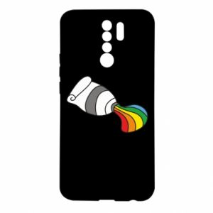 Etui na Xiaomi Redmi 9 Rainbow colors