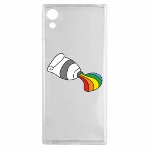 Etui na Sony Xperia XA1 Rainbow colors
