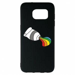 Etui na Samsung S7 EDGE Rainbow colors