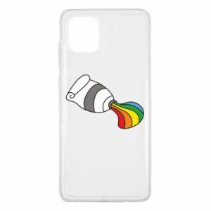 Etui na Samsung Note 10 Lite Rainbow colors