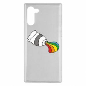 Etui na Samsung Note 10 Rainbow colors