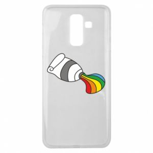 Etui na Samsung J8 2018 Rainbow colors