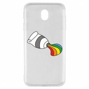 Etui na Samsung J7 2017 Rainbow colors