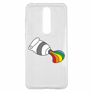 Etui na Nokia 5.1 Plus Rainbow colors