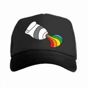 Czapka trucker Rainbow colors