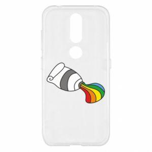 Etui na Nokia 4.2 Rainbow colors