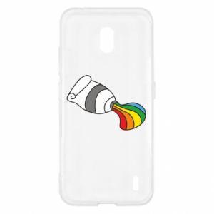 Etui na Nokia 2.2 Rainbow colors